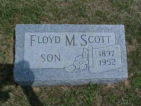 SCOTT, FLOYD M. - Pottawattamie County, Iowa | FLOYD M. SCOTT