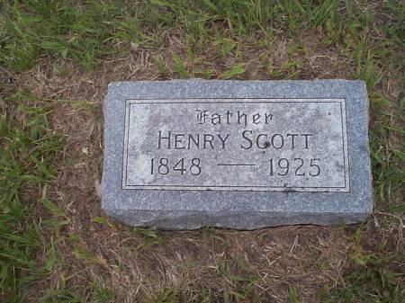 SCOTT, HENRY - Pottawattamie County, Iowa | HENRY SCOTT