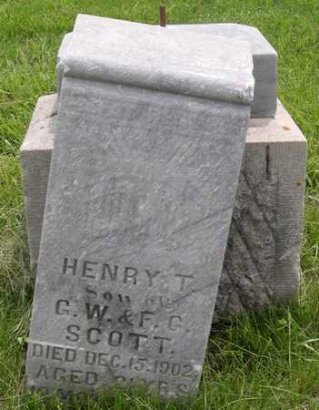 SCOTT, HENRY T. - Pottawattamie County, Iowa | HENRY T. SCOTT