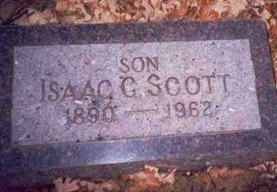 SCOTT, ISAAC GEORGE - Pottawattamie County, Iowa | ISAAC GEORGE SCOTT