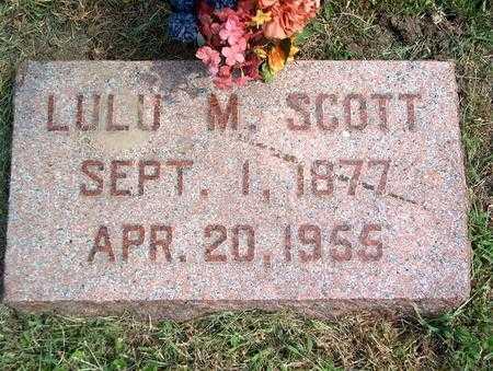SCOTT, LULU M. - Pottawattamie County, Iowa | LULU M. SCOTT