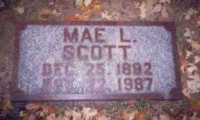 KLOPPING SCOTT, MAE LETA - Pottawattamie County, Iowa | MAE LETA KLOPPING SCOTT