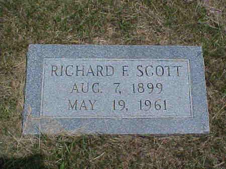 SCOTT, RICHARD F. - Pottawattamie County, Iowa | RICHARD F. SCOTT