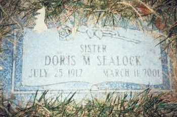 SEALOCK, DORIS M. - Pottawattamie County, Iowa | DORIS M. SEALOCK