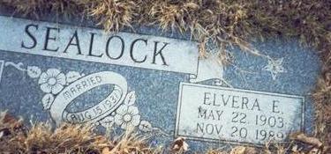 TIARKS SEALOCK, ELVERA EMELINE - Pottawattamie County, Iowa | ELVERA EMELINE TIARKS SEALOCK