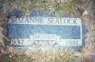 SEALOCK, SUZANNE - Pottawattamie County, Iowa   SUZANNE SEALOCK