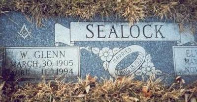 SEALOCK, WILBUR GLENN - Pottawattamie County, Iowa | WILBUR GLENN SEALOCK