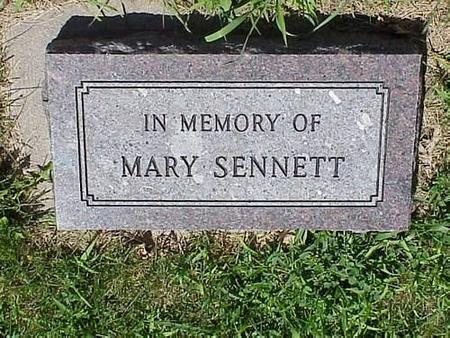 SENNETT, MARY - Pottawattamie County, Iowa | MARY SENNETT