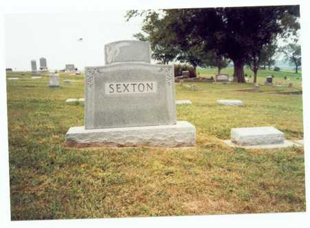 SEXTON, FAMILY MARKER - Pottawattamie County, Iowa | FAMILY MARKER SEXTON