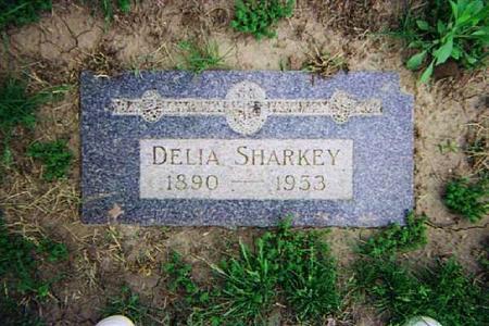 SHARKEY, DELIA - Pottawattamie County, Iowa   DELIA SHARKEY