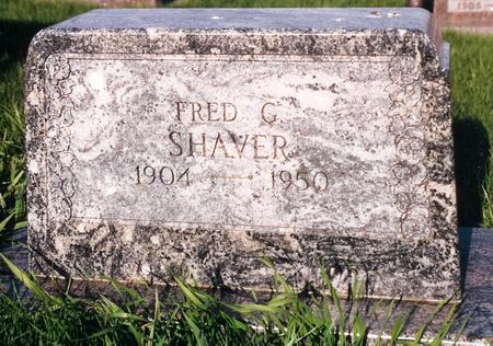 SHAVER, FRED - Pottawattamie County, Iowa | FRED SHAVER
