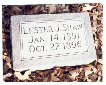 SHAW, LESTER J. - Pottawattamie County, Iowa   LESTER J. SHAW