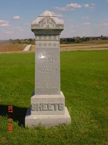 SHEETS, HEADSTONE - Pottawattamie County, Iowa | HEADSTONE SHEETS