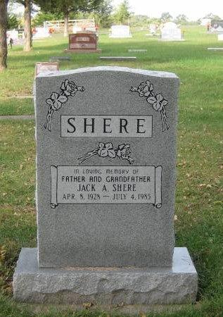 SHERE, JACK - Pottawattamie County, Iowa | JACK SHERE