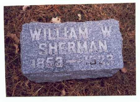 SHERMAN, WILLIAM W. - Pottawattamie County, Iowa | WILLIAM W. SHERMAN