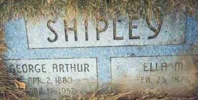 SHIPLEY, GEORGE ARTHUR - Pottawattamie County, Iowa | GEORGE ARTHUR SHIPLEY