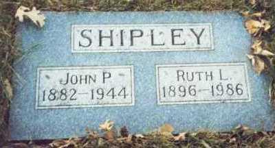 SHIPLEY, JOHN P. - Pottawattamie County, Iowa | JOHN P. SHIPLEY