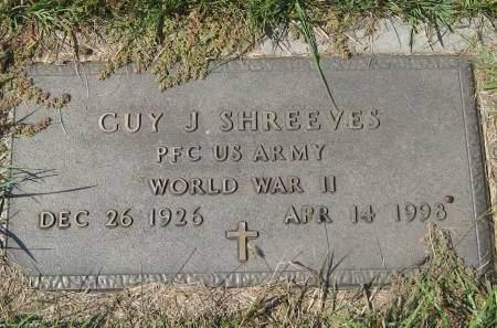 SHREEVES, GUY J. - Pottawattamie County, Iowa | GUY J. SHREEVES