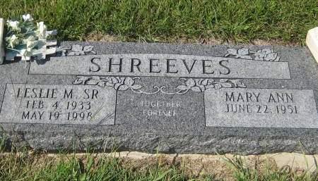 SHREEVES  SR., LESLIE M. - Pottawattamie County, Iowa | LESLIE M. SHREEVES  SR.