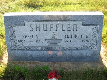 SHUFFLER, HAZEL V. - Pottawattamie County, Iowa   HAZEL V. SHUFFLER