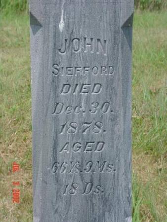 SIEFFORD, JOHN - Pottawattamie County, Iowa | JOHN SIEFFORD