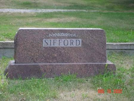 SIFFORD, LAURA E. & FRED E. [PLOT] - Pottawattamie County, Iowa | LAURA E. & FRED E. [PLOT] SIFFORD