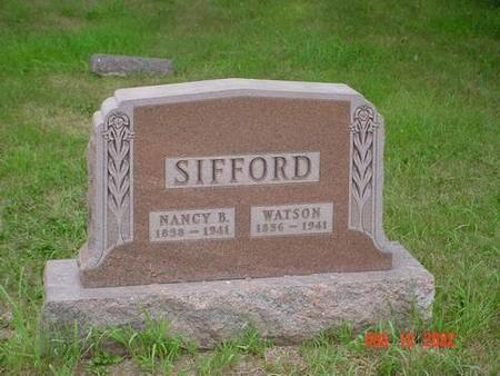 SIFFORD, NANCY B. & WATSON - Pottawattamie County, Iowa | NANCY B. & WATSON SIFFORD