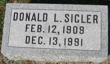 SIGLER, DANIEL L. - Pottawattamie County, Iowa | DANIEL L. SIGLER