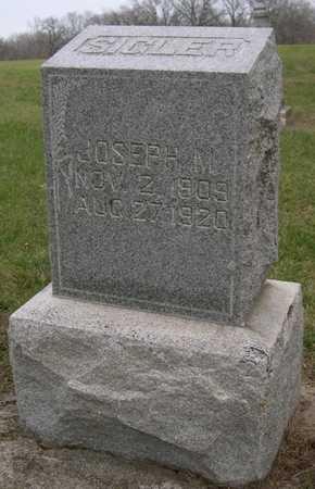 SILGER, JOSEPH M. - Pottawattamie County, Iowa   JOSEPH M. SILGER