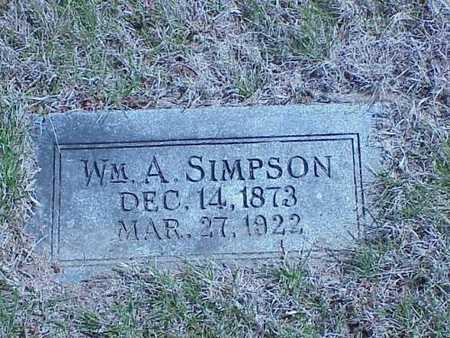 SIMPSON, WILLIAM A. - Pottawattamie County, Iowa | WILLIAM A. SIMPSON