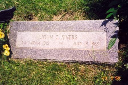 SIVERS, JOHN GARDNER - Pottawattamie County, Iowa | JOHN GARDNER SIVERS
