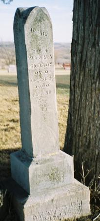 SKELTON, ARCHIE - Pottawattamie County, Iowa | ARCHIE SKELTON