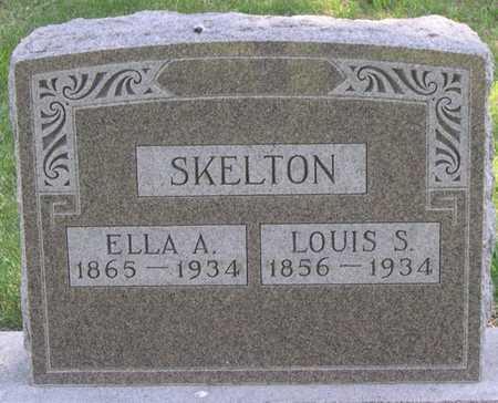 SKELTON, LOUIS S. - Pottawattamie County, Iowa   LOUIS S. SKELTON