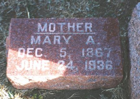SKELTON, MARY A - Pottawattamie County, Iowa   MARY A SKELTON