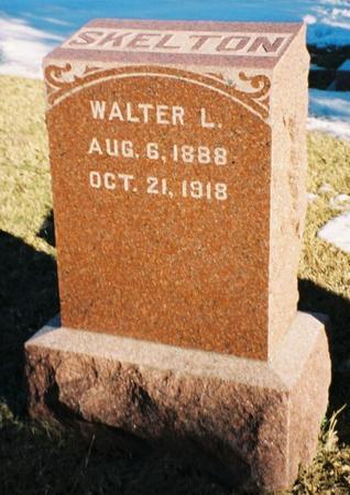 SKELTON, WALTER L - Pottawattamie County, Iowa   WALTER L SKELTON