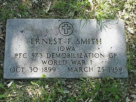 SMITH, ERNEST F. - Pottawattamie County, Iowa | ERNEST F. SMITH