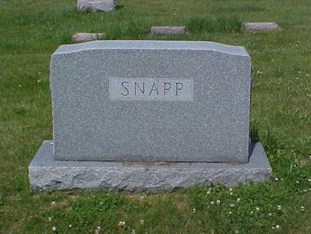 SNAPP, FAMILY STONE - Pottawattamie County, Iowa   FAMILY STONE SNAPP