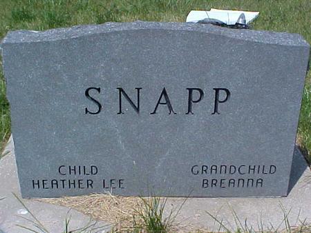 SNAPP, SUSAN - Pottawattamie County, Iowa | SUSAN SNAPP