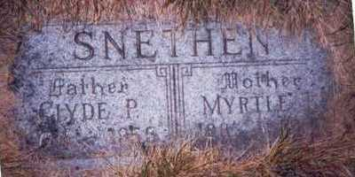 SNETHEN, CLYDE P. - Pottawattamie County, Iowa | CLYDE P. SNETHEN