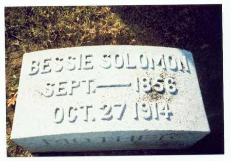 SOLOMAN, BESSIE - Pottawattamie County, Iowa | BESSIE SOLOMAN