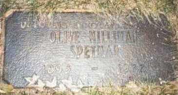 SPETMAN, OLIVE MILLIMAN - Pottawattamie County, Iowa | OLIVE MILLIMAN SPETMAN