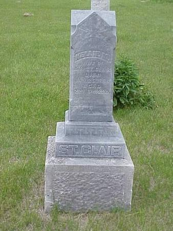 ST. CLAIR, NELLIE M. - Pottawattamie County, Iowa | NELLIE M. ST. CLAIR