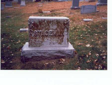 STAGEMAN, FAMILY MARKER - Pottawattamie County, Iowa | FAMILY MARKER STAGEMAN