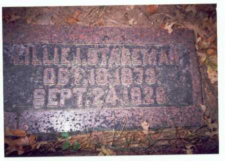 STAGEMAN, LILLIE I. - Pottawattamie County, Iowa | LILLIE I. STAGEMAN