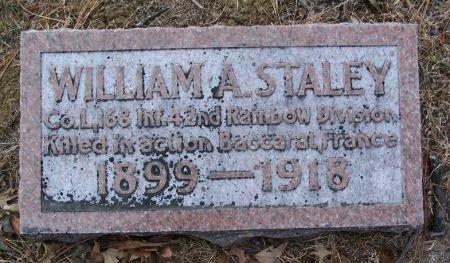 STALEY, WILLIAM A. - Pottawattamie County, Iowa | WILLIAM A. STALEY