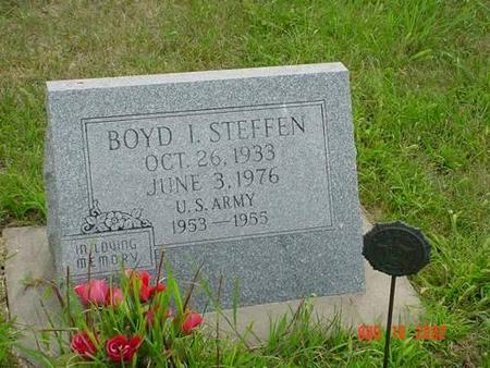 STEFFEN, BOYD L. - Pottawattamie County, Iowa   BOYD L. STEFFEN