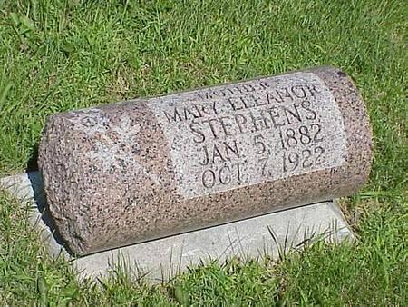 STEPHENS, MARY ELEANOR - Pottawattamie County, Iowa   MARY ELEANOR STEPHENS