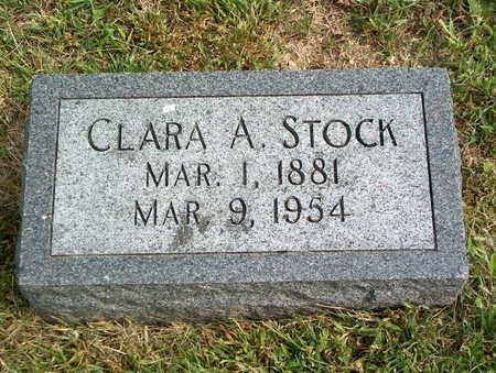STOCK, CLARA A. - Pottawattamie County, Iowa | CLARA A. STOCK