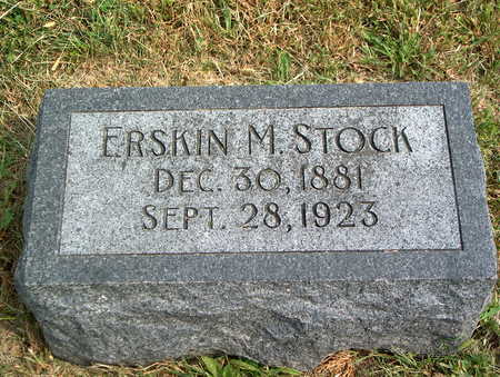 STOCK, ERSKIN M. - Pottawattamie County, Iowa | ERSKIN M. STOCK