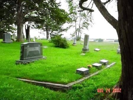 STONE, NANNIE ELLEN & OSCAR DELOIS [PLOT] - Pottawattamie County, Iowa | NANNIE ELLEN & OSCAR DELOIS [PLOT] STONE
